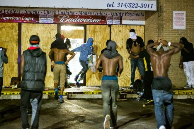 Ferguson Rioters
