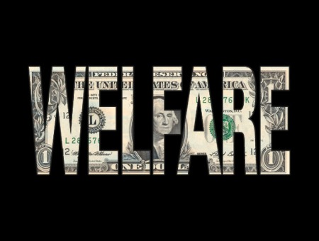 Welfare Dollar Sign